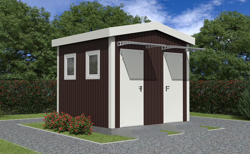 DoorHan разработал новую серию быстросборных каркасных зданий для частного и коммерческого сектора