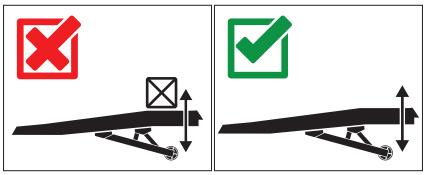 Новые предупреждающие наклейки на уравнительных платформах и мобильных рампах DoorHan