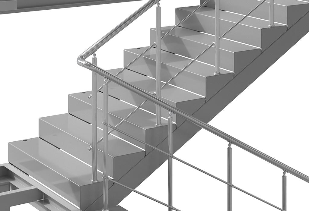 DoorHan усовершенствовал конструкцию внутренней лестницы для модульных зданий