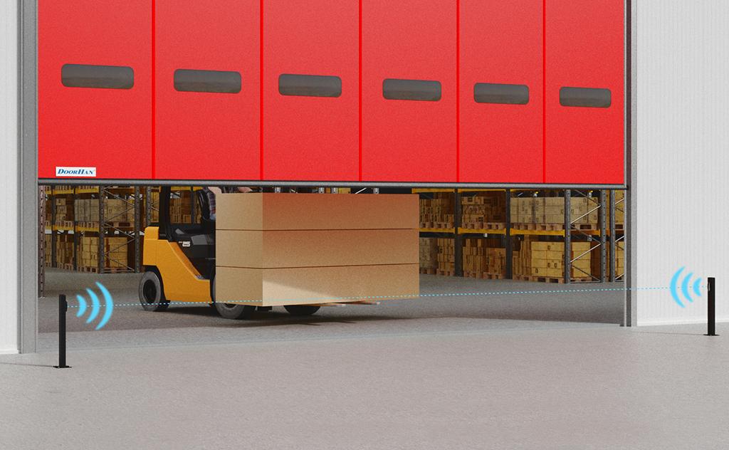 Новая комплектация скоростных ворот серий SpeedRoll, SpeedFold и HSSD повысит их безопасность