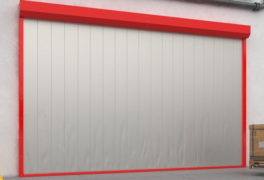Противопожарные шторы DoorHan для перекрытия проемов шириной до 8 метров